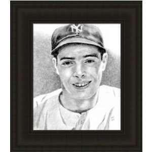 New York Yankees Framed Joe DiMaggio New York Yankees