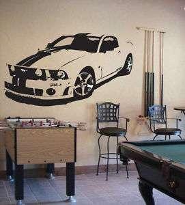 MUSTANG GT COBRA SHELBY Wall Decor Vinyl Decal Sticker