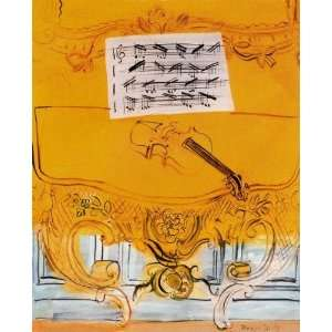 Hand Made Oil Reproduction   Raoul Dufy   32 x 40 inches