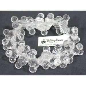 Disney Mickey Ears Clear Beaded Bracelet   Disney Parks