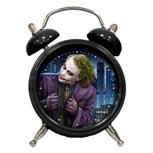 Dark Knight   Heath Ledger   Joker Mini Alarm Clock: Home & Kitchen