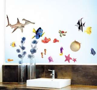 Finding Nemo KIDS ROOM Adhesive Removable Wall Decor Accents Sticker