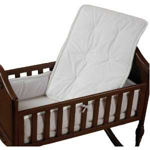 Baby Doll Bedding Cradle Bedding Set, White Baby