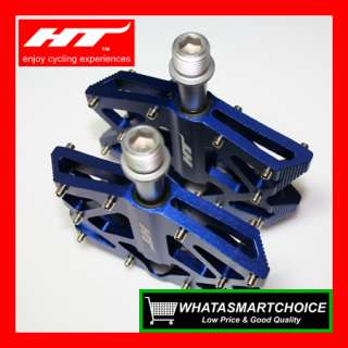NEW AX01 BLUE Mountain & BMX Bicycle Bike Pedals
