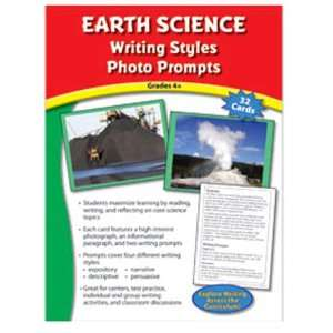 Earth Science Writing Styles Photo Prompts Gr 4: Toys & Games