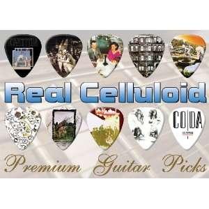 Led Zeppelin Premium Guitar Picks X 10 (CR) Musical