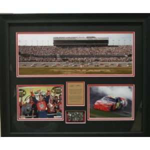 Jeff Gordon Framed Daytona 500 victory Sports & Outdoors
