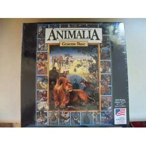 Animalia By Graeme Base 300 Piece Jigsaw Puzzle Toys