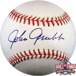 Johnny Grubb Autographed/Hand Signed Rawlings MLB Baseball