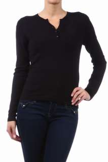 New Fitted Long Sleeve Henley Top w/ Mini Pocket 4 Colors Small Medium