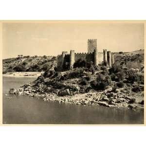 1942 Almourol Castle Knights Templar Portugal Tagus