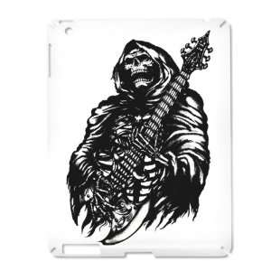 iPad 2 Case White of Grim Reaper Heavy Metal Rock Player