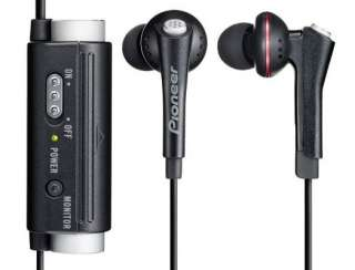 Pioneer SE NC31C K Active Noise Cancelling In Ear Earbud Stereo