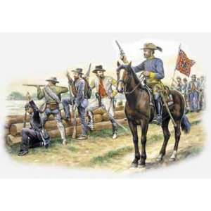 Italeri 1/72 Confederate Troops (American Civil War) Figures