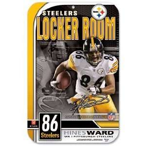 NFL Hines Ward Pittsburgh Steelers Sign