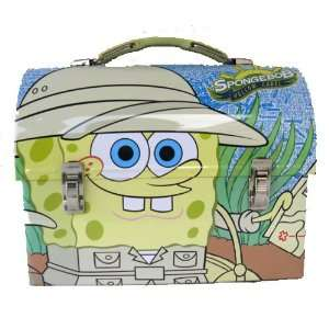 Squarepants Adventure Dome Metal Tin Lunch Box