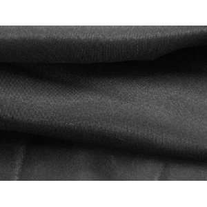 China Silk Habotai  Black