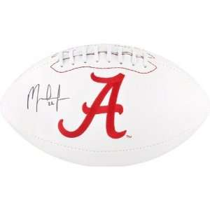 Mark Ingram Autographed Football  Details Alabama