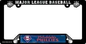 CAR LICENSE PLATE FRAME PHILADELPHIA PHILLIES BASEBALL