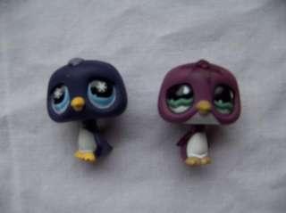 LITTLEST PET SHOP MLP penguins igloo sled ear muffs GUC