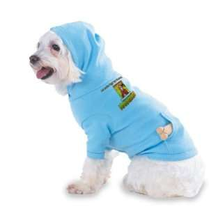 call MANAGEMENT Hooded (Hoody) T Shirt with pocket for your Dog or Cat