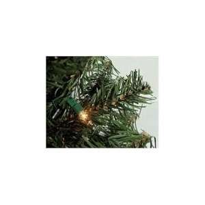 2 Pre Lit Canadian Pine Artificial Christmas Tree   Clear