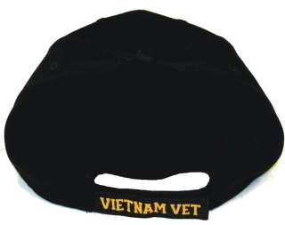 Vietnam Veteran Logo Adjustable Baseball Hat Cap