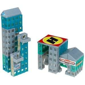 Magnetix MagnaWorld Rescue Center Toys & Games
