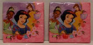 Disney Princess Birthday Party 32 Plates Cups Napkins