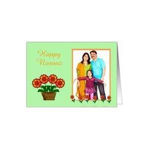 Persian New Year card in Happy Norooz photo card Card