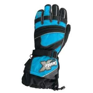 CASTLE X RIZER G4 LADIES GLOVES SC15 REFLEX BLUEE XS