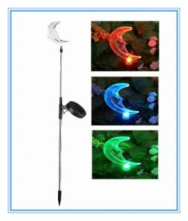 NEW Solar Powered Garden Stake Light Color changing LED light Free
