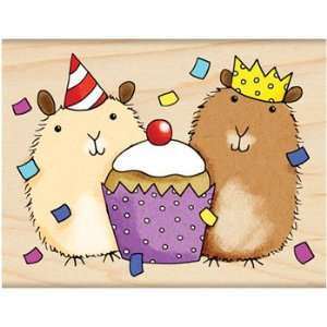 Penny Black Rubber Stamp 2.5X3.25 Party Critters Arts