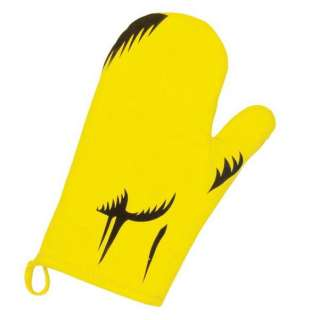 Santa Cruz Rob Roskopp FACE BBQ Apron w/Mitt YELLOW