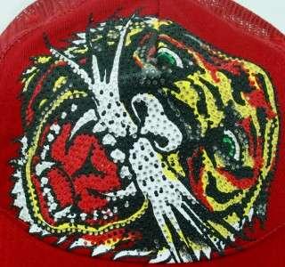 Tiger Stones Red Unisex Platunum Cap Trucker Hat OnSizeFitsAll