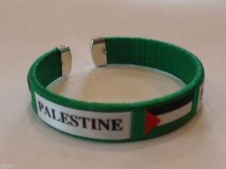 New Green Palestinian Bracelet Palestine Flag Wristband