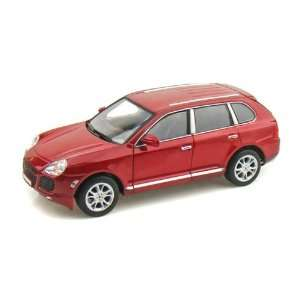 Porsche Cayenne Turbo 1/24 Red: Toys & Games