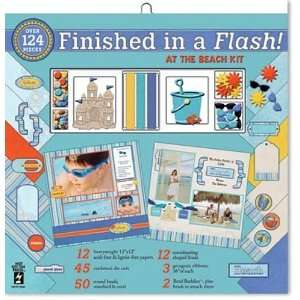 Finished In A Flash Page Kit 12X12 At The Beach Arts