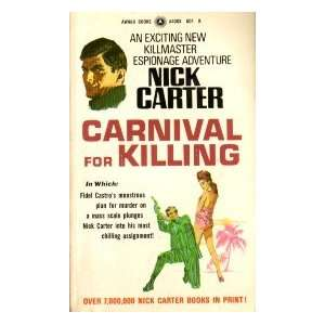 peking , a killmaster spy chiller . nick carter Books