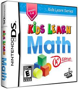 KIDS LEARN MATH A+ EDITION NDS *NEW* 859462001007