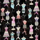 RJR Lil Little Miss Ms Sew & Sew Dress Forms Black Sew