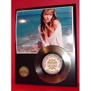 Gold Record Outlet Jennifer Lopez 24KT Gold Record Display
