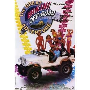 The Great Bikini Off Road Adventure Movie Poster (11 x 17