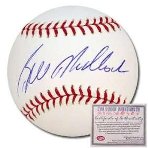 Bill Madlock Pittsburgh Pirates Hand Signed Rawlings MLB