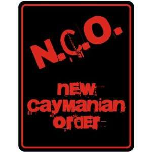New  New Caymanian Order  Cayman Islands Parking Sign