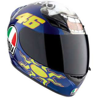 AGV K3 ROSSI REPLICA MOTORCYCLE HELMET   FREE RACE VISOR