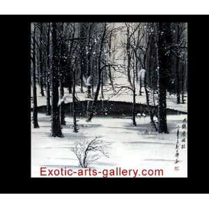 Modern Art, Oil Painting Landscape, Canvas Oil Painting c0797