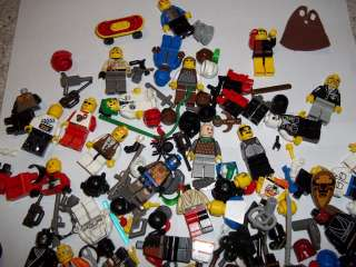 Lego Minifigure   HUGE Lot   Star Wars / Rare / Vintage / Accessories