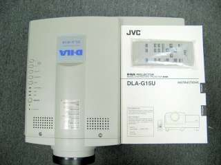 JVC DLA G15U D ILA Projector w/Remote 1365 x 1024