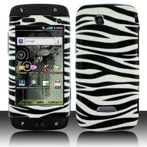 Whie Zebra Case Cover Proecor (free Ani Noise Shield Bag